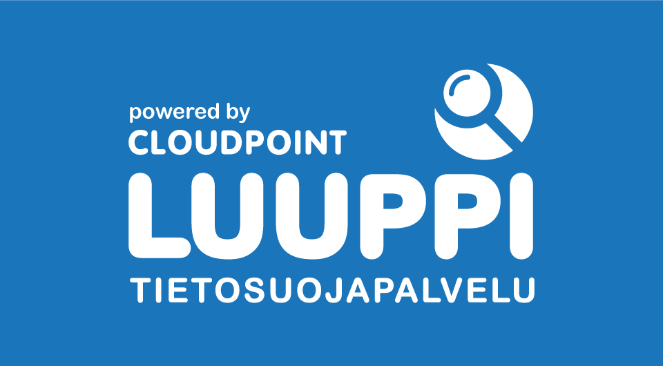 Luuppi-tietosuojapalvelun logo